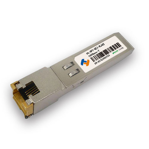 RJ45 1000BASE-T Copper SFP Transceiver