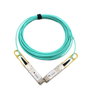 HSP40G-AOC-xxm 40G QSFP+ to QSFP+ Active Optical Cable(AOC)