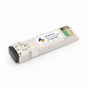 China high quality Customized 10G DWDM SFP+ 50/100GHz 80KM 1528.77nm  factory manufacturers