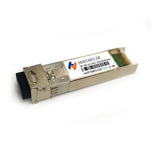 10G SFP+ ZR BIDI 1490T/1550R 80km Single LC Transceiver Industrial