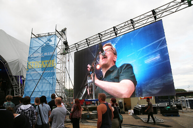 P10 led full color billboard