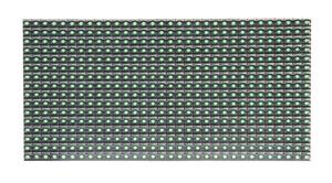 China P10 outdoor green LED display module supplier