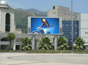 P10 ao ar livre SMD full color LED display