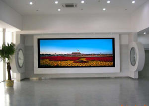 Rasio kontras tinggi indoor led layar, led billboard