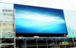 China P4.81 outdoor SMD full color LED display supplier