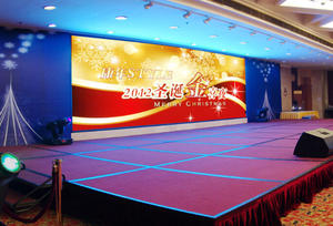 China P4 indoor full color LED screen supplier