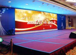 P4 indoor full color LED screen