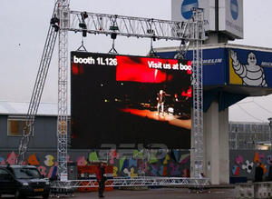 P4 81 sewa outdoor LED display