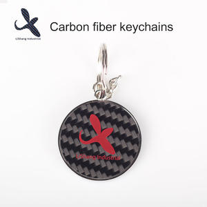 China Customized carbon fiber keychain Manufacturers