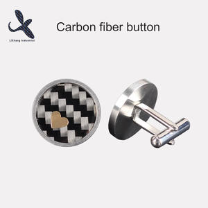 China Customized Carbon Fiber Button Manufacturers