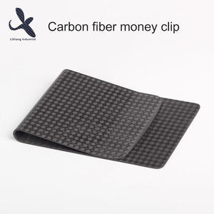 China Customized Carbon fiber Metal Card Clip Suppliers