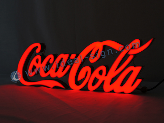 CocaCola Indoor Words Letter LED Resin Sign