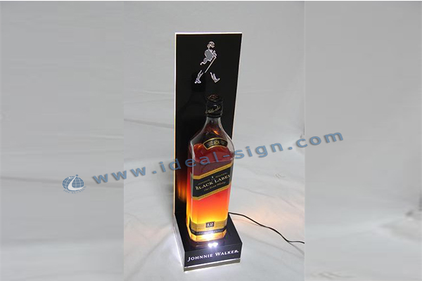 Johnnie Walker Bottle Display