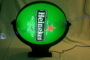 led vaccum forming sign board