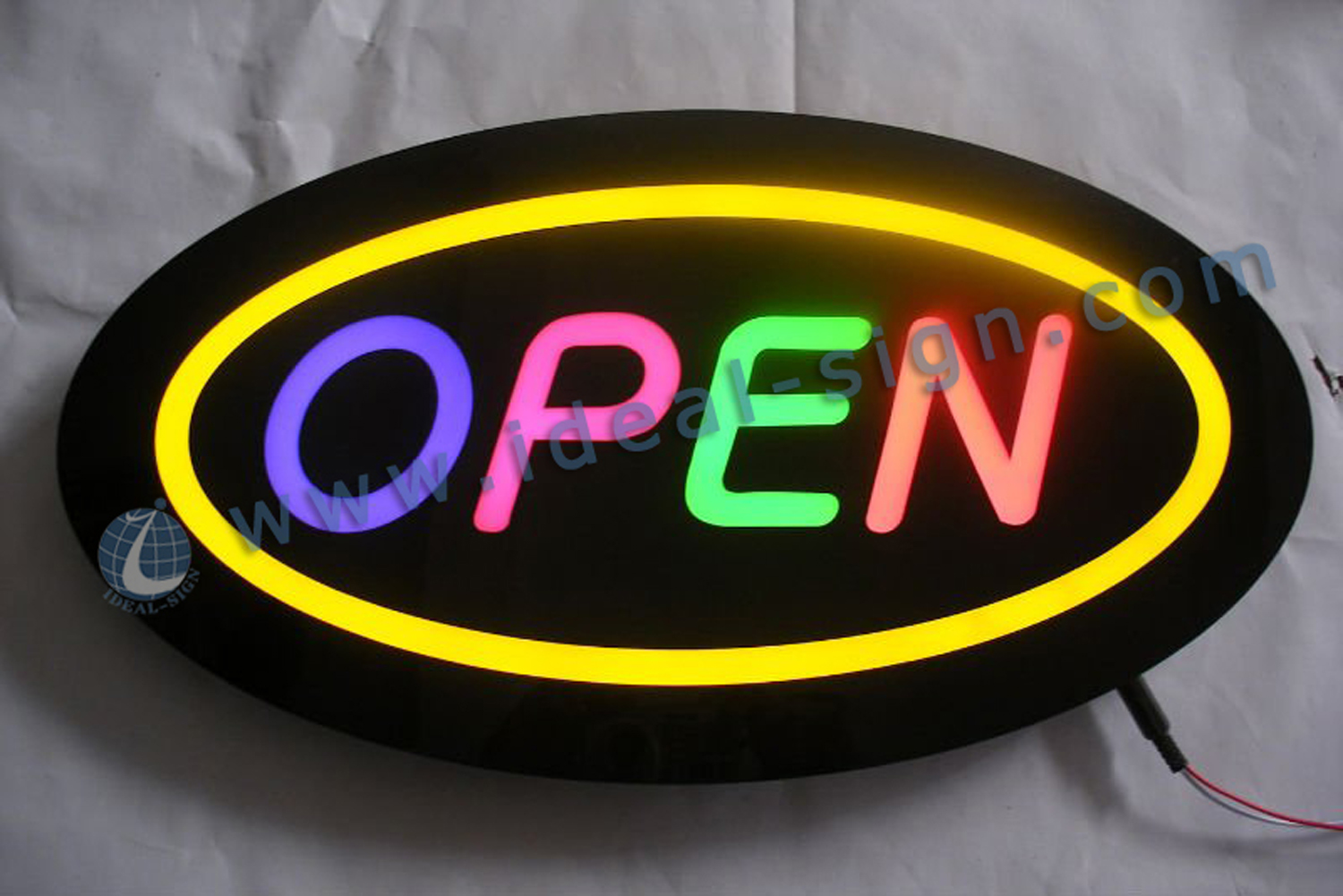 Wholesale Open LED Resin sign