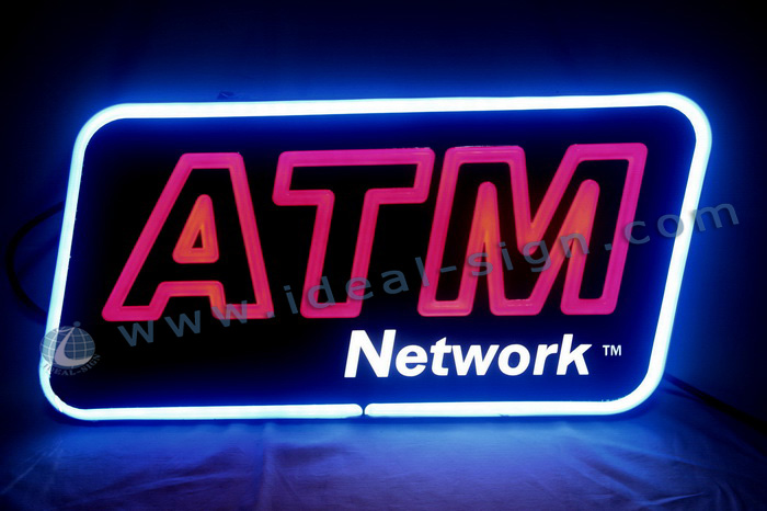 ATM LED Fake Neon Signs