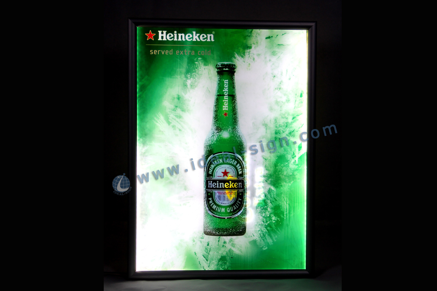 Aluminum Frame Slim LED Panel Sign