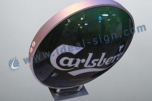 vacuum formed LED sign