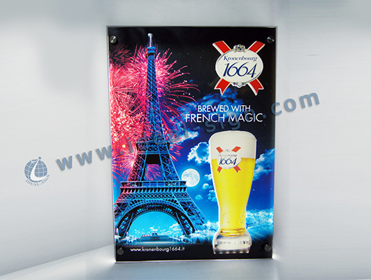 Acrylic Super Slim LED Sign Light Box