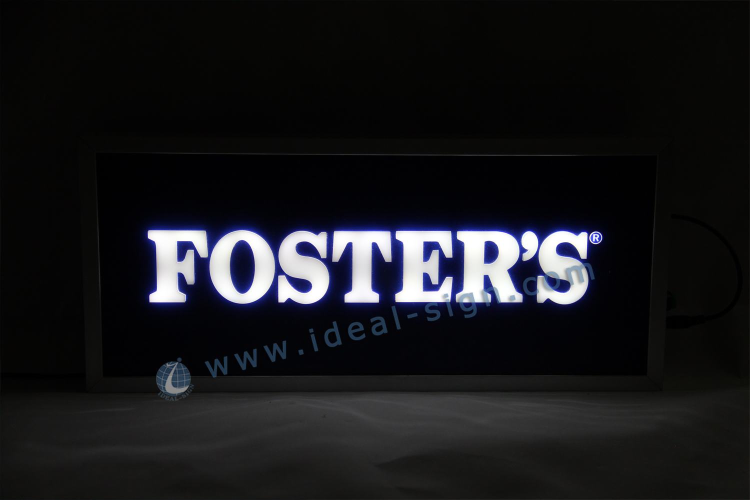 Aluminum Snap Frame Acrylic Indoor LED Signs