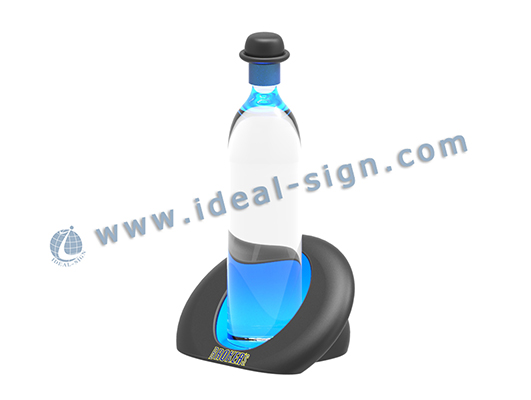 Broker's Acrylic led bottle stand