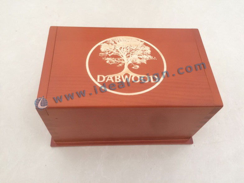 Handmade Pine Wood Packing Boxes Used for Promotion