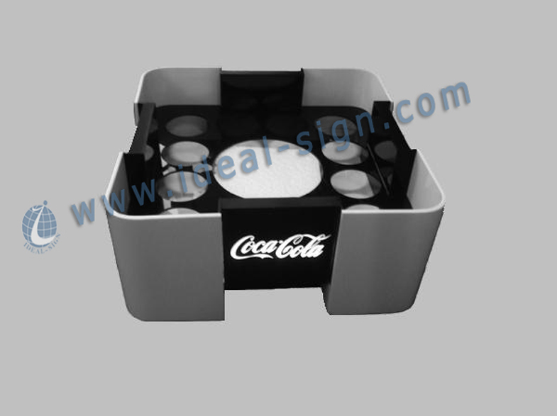 Coca Cola Illuminated Tray LED Bottle