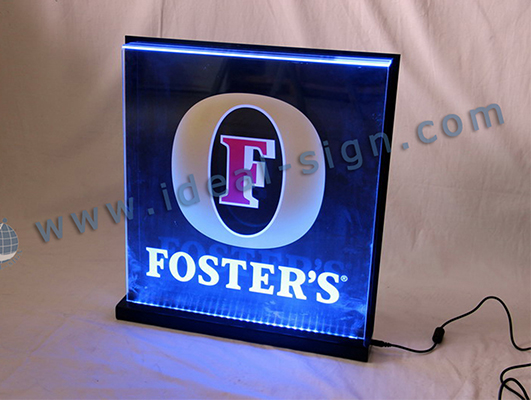 Foster's LED Edge-Lit Display