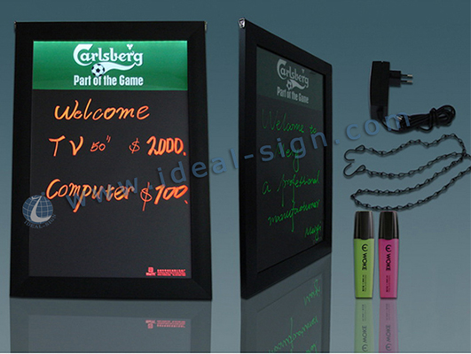 led writing blackboard