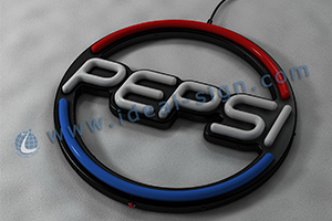 Pepsi Led fake neon sign
