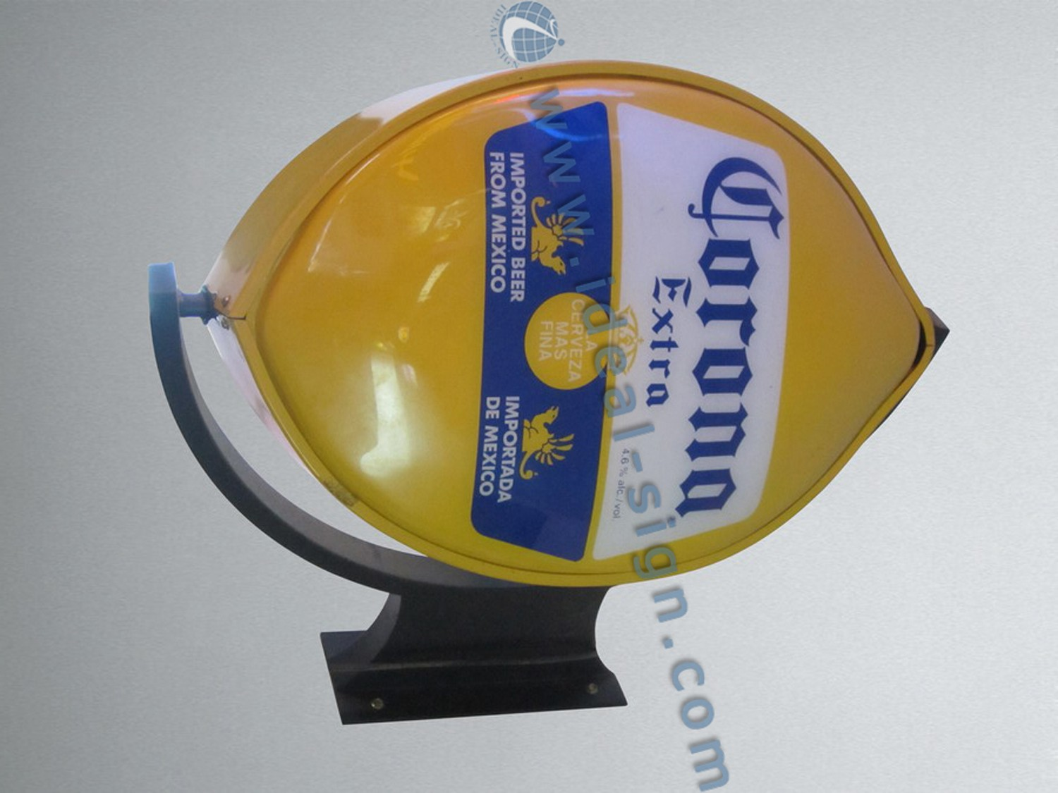 Rotating Vacuum Formed Signs Metal Frame Light Box