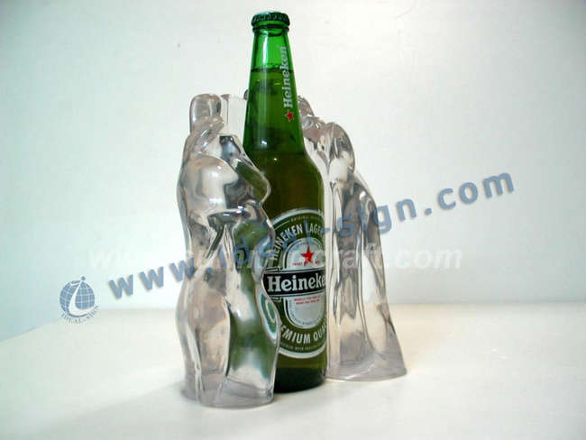 beer bottles display solutions for bevarages and wines