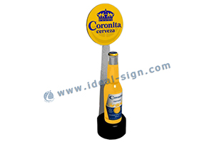 Schweppes led light box display