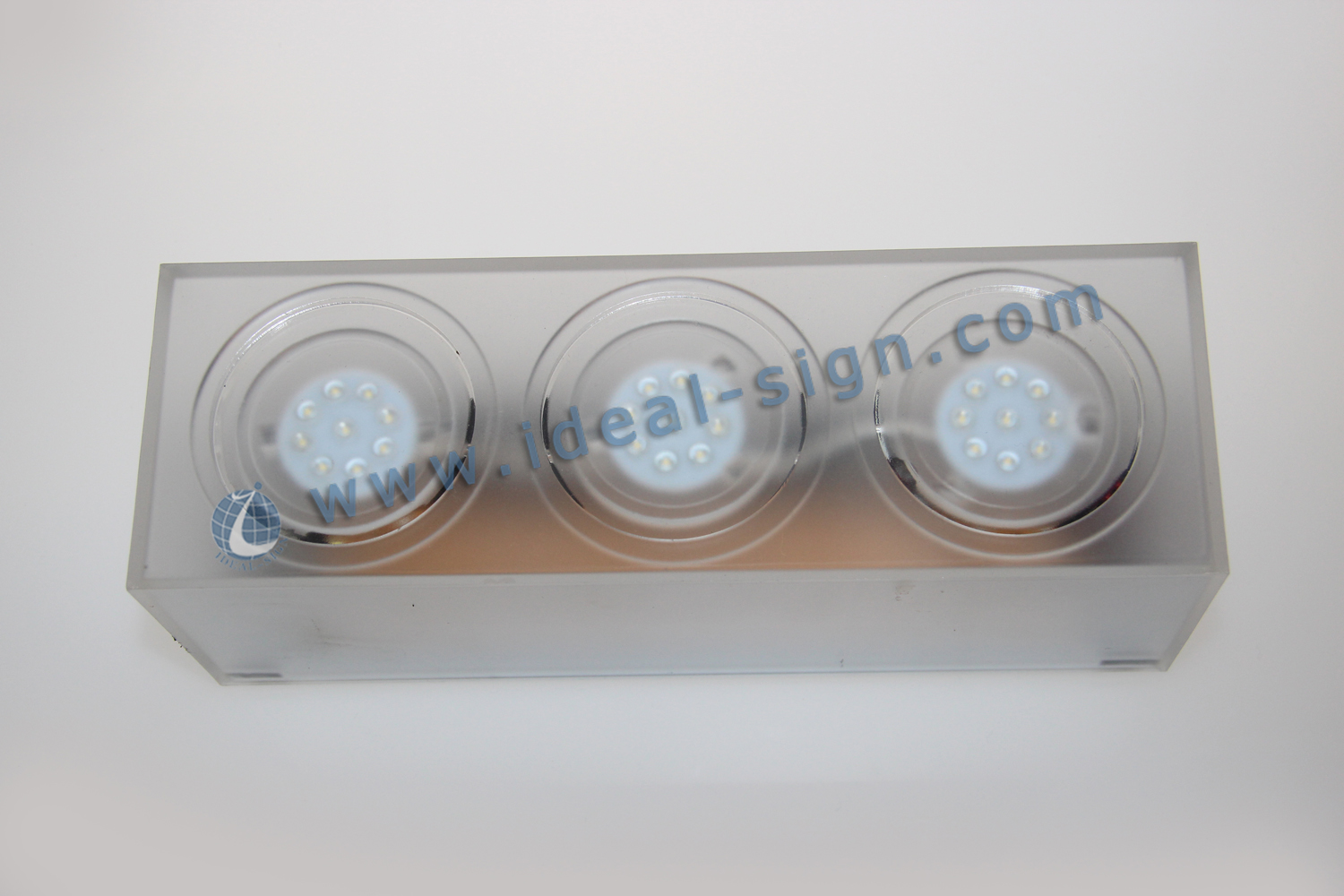 Acrylic LED Liquor Bottle Display available for club