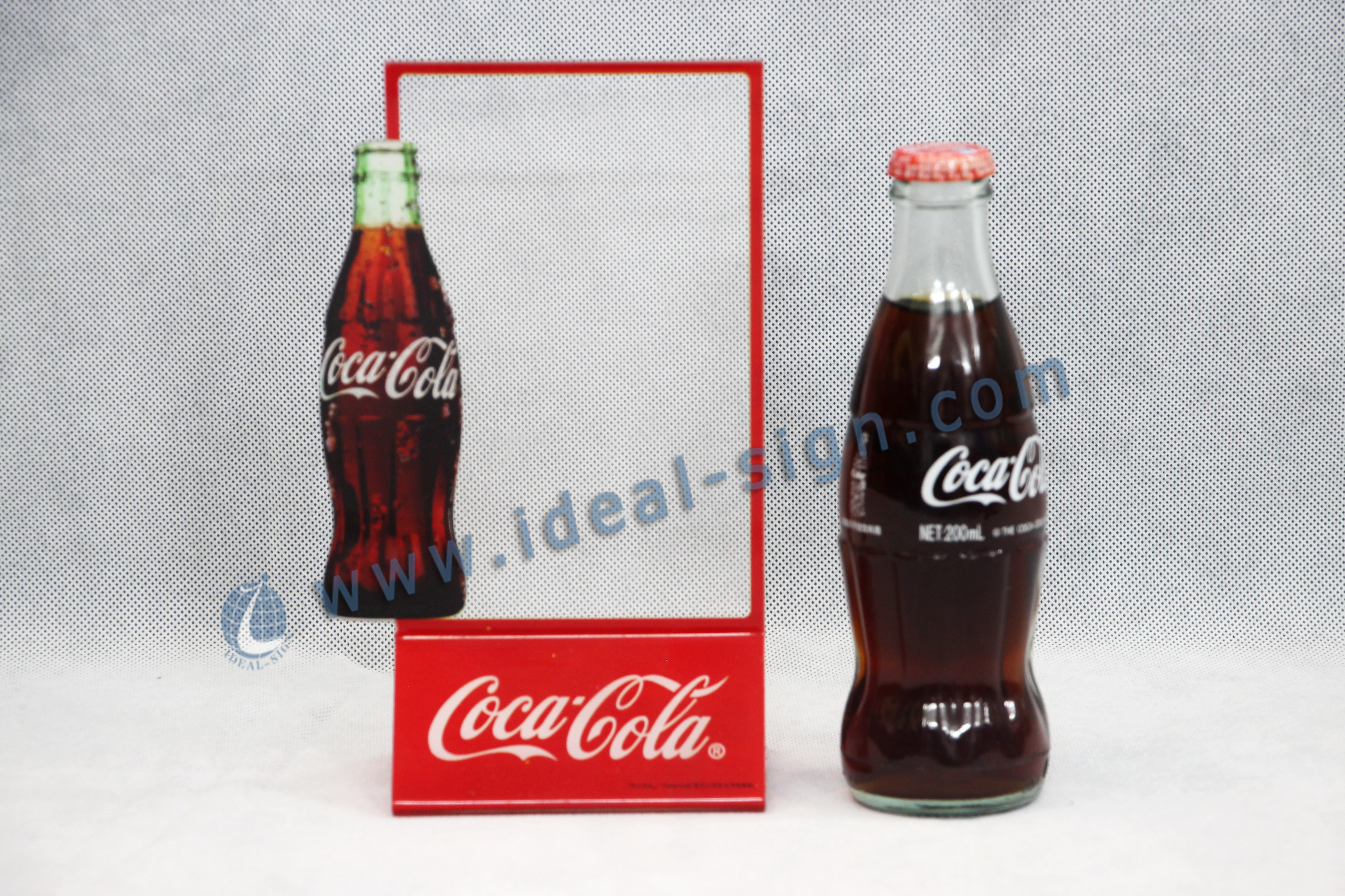 Coca Cola Menu Display