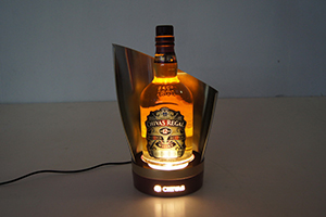 Chivas led bottle stand