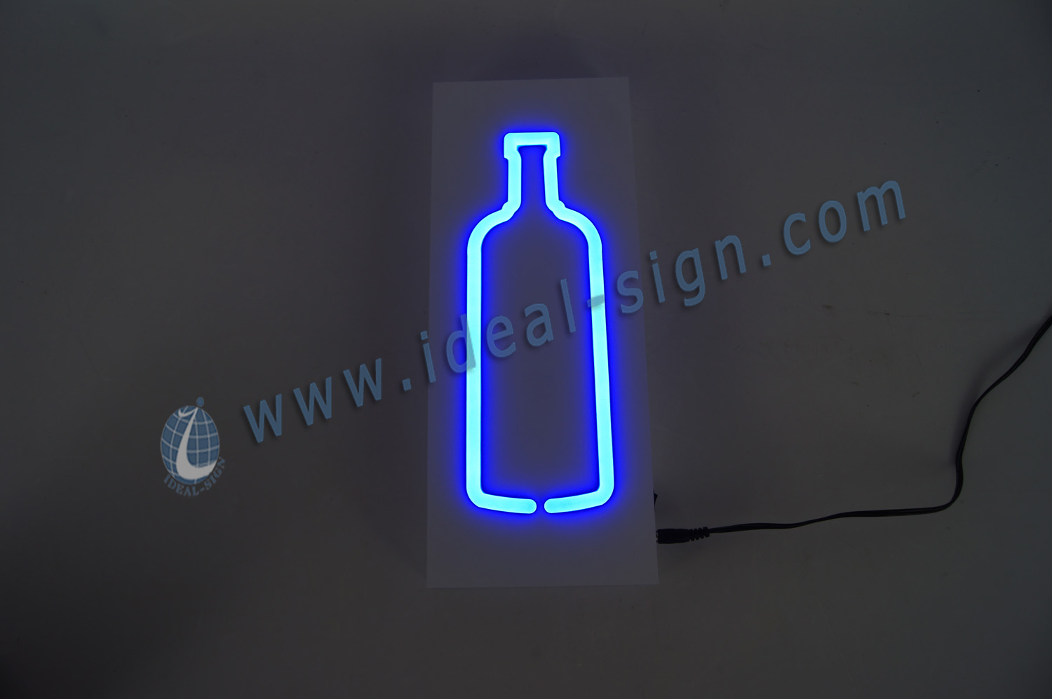 Custom Indoor LED Soft Neon Sign / light box sign