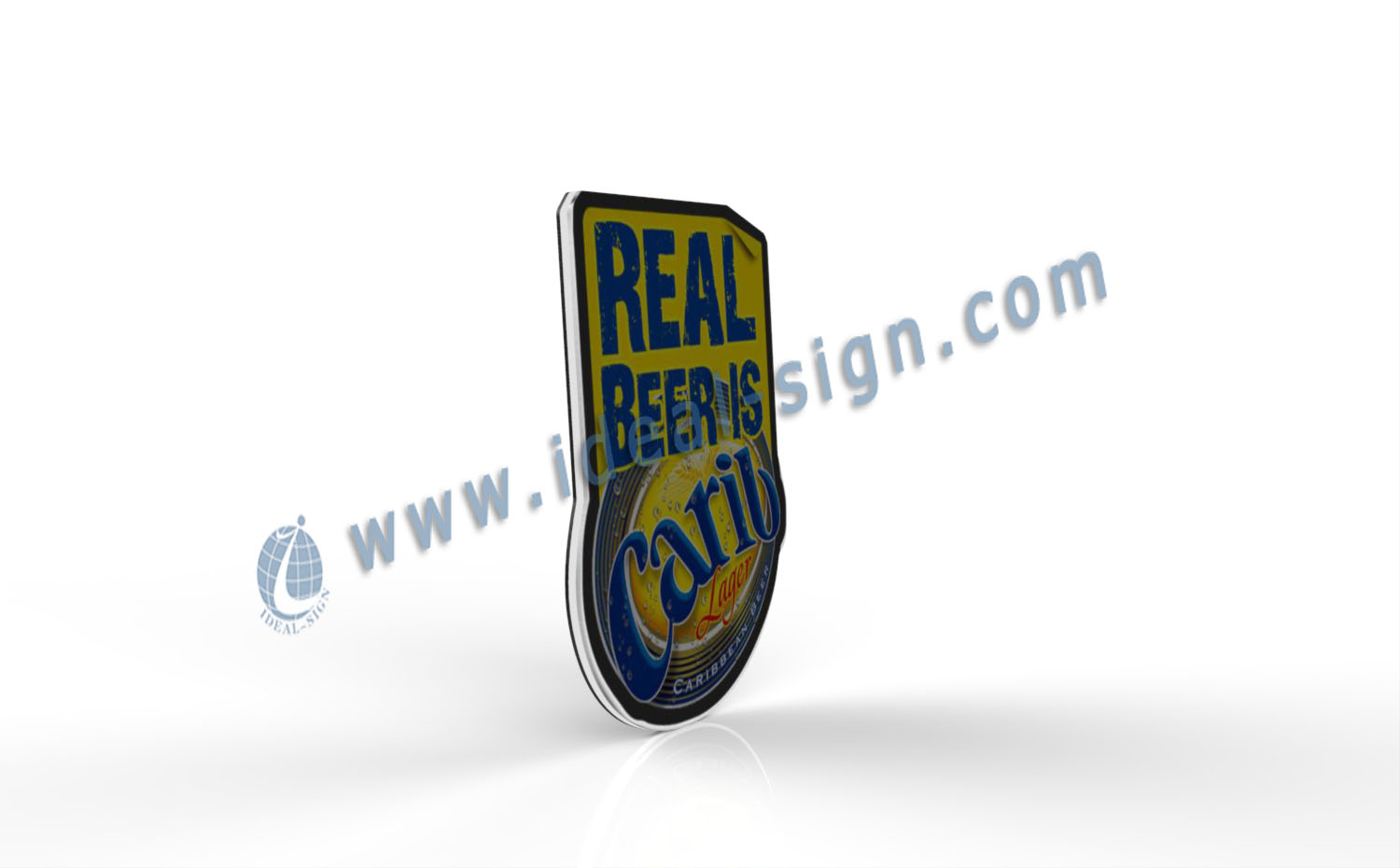 Beer Brand LED Slim Light Signs for Displaying