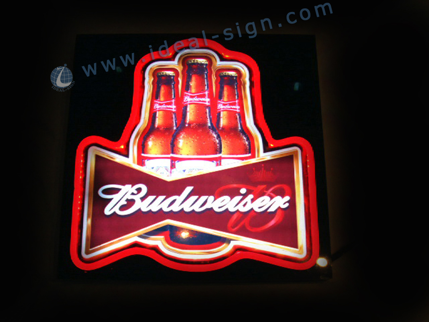 Budweiser Beer Neon Sign Bar Light Neon Sign Power