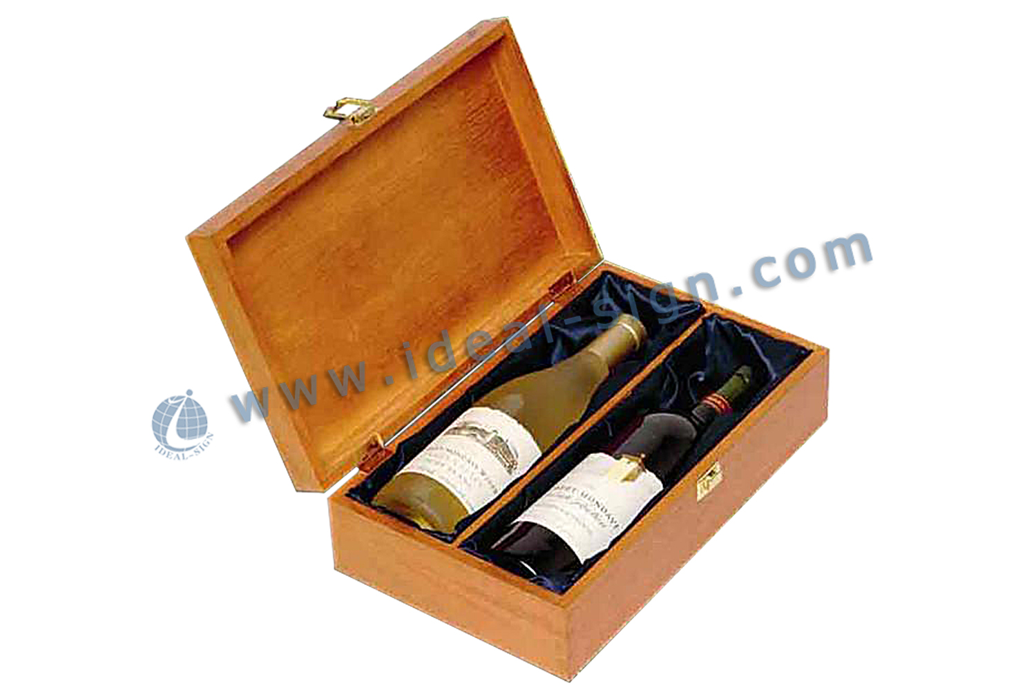 Champagne Pine Wooden Senior Gift Box
