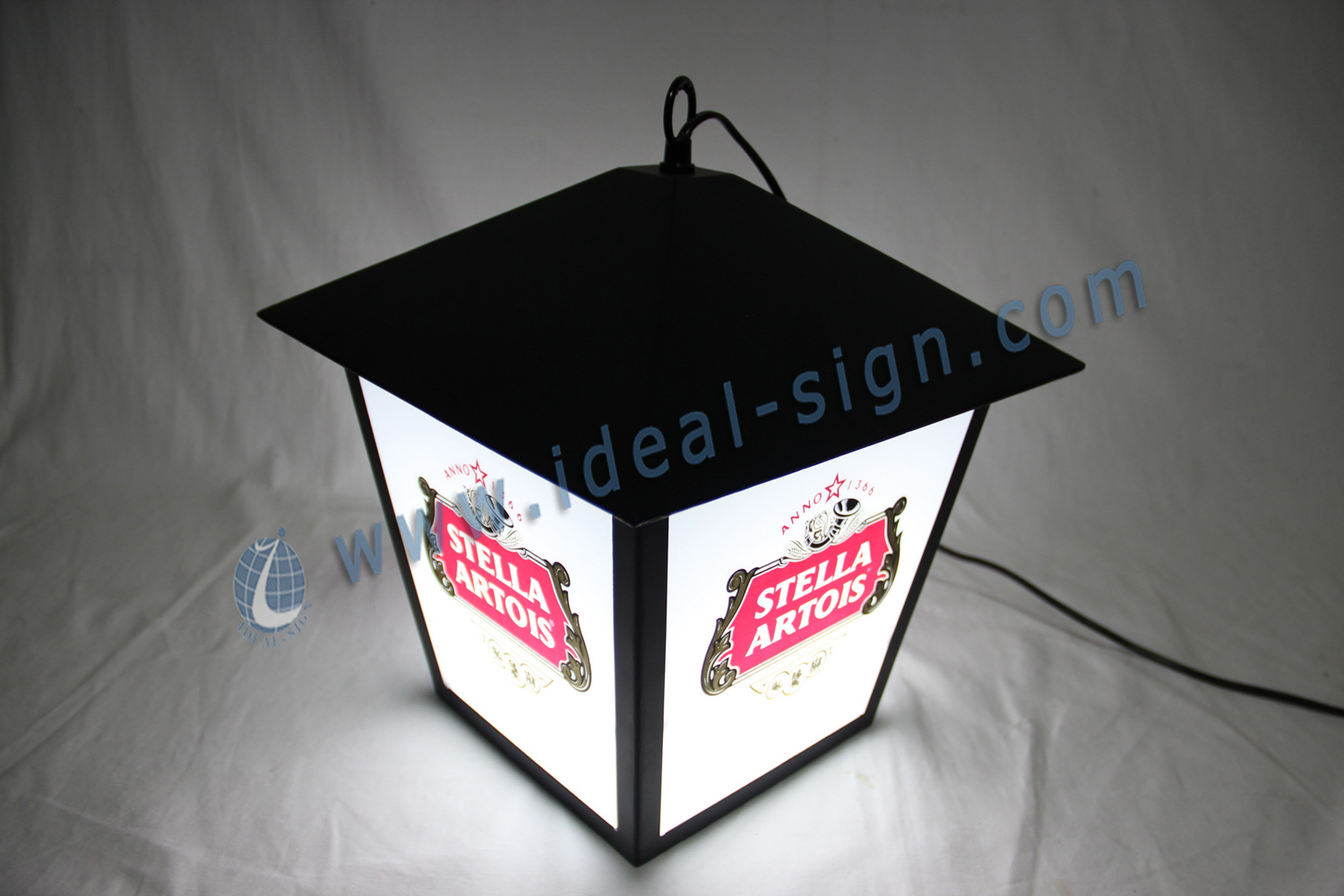Street lamp style Indoor outdoor LED Signs