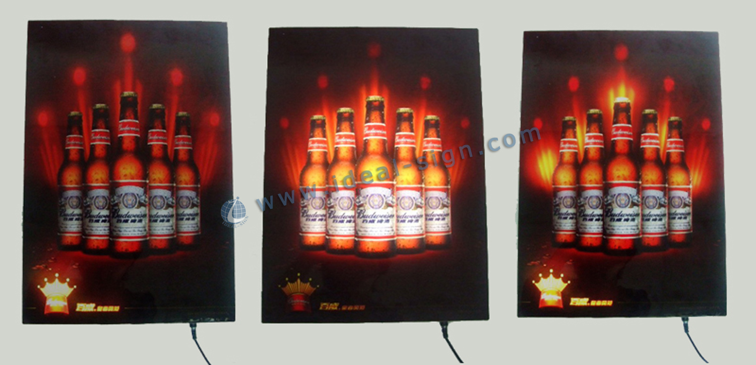 LED Flashing Indoor LED Signs Lightbox