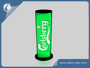 Carlsberg Beer Signs Vacuum Formed Light Box Exterior Wall Mounted Sign