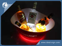 Heineken Illuminato acrilico Ice Bucket / Wine Bucket Chiller