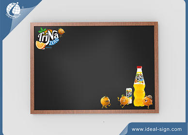 Traditional Advertising Chalkboard