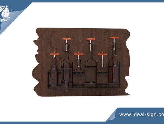 wine bottle holder rack
