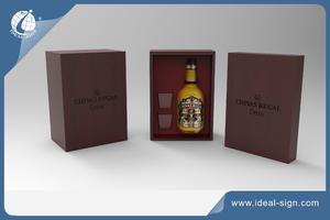 China supplier for simple style Wine Wooden Box and champagne packing boxes