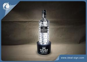VODKA Acrílico LED iluminado shelf Bottle