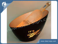 Customized Led  Illuminated Ice Buckets For Beer Brand Promotion