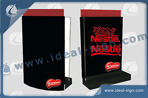 Straw Dispenser Acrylic Customize LED Edge-Lit Sign 23.5 X 31CM